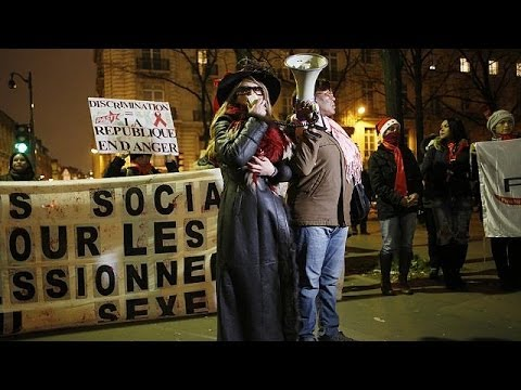 Protests as French prostitution bill gets tough on sex trade