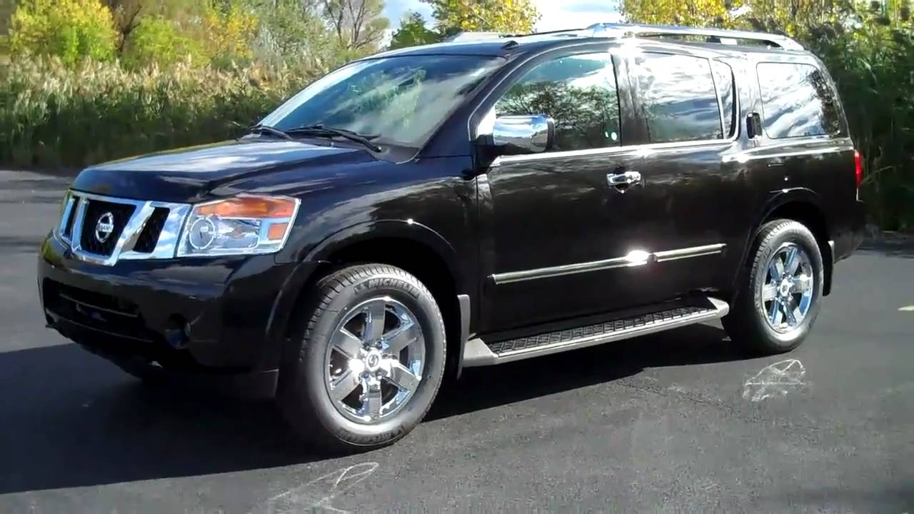 2011 Nissan Armada Review Amp Test Drive Platinum Edition
