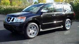 2011 Nissan Armada Review & Test Drive Platinum Edition videos