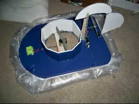 Rc Hovercraft Homemade Youtube