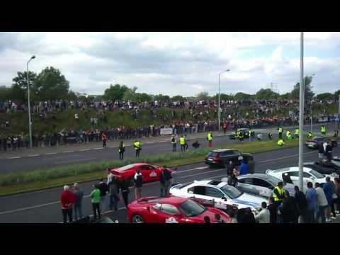 Wypadek Gran Turismo Polska 2013 - Poznań, Hlonda. Koenigsegg (18+)