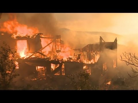 California's Battle Against Sweeping Wildfires