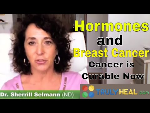 Cancer is curable Now with Sherrill Selman speaking about hormones
