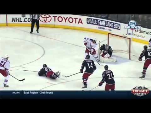 Stepan, Brassard & Hagelin Goals Against Columbus Blue Jackets 3/21/14