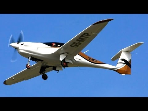 Pipistrel Panthera in Flight