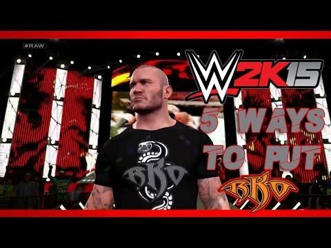 WWE 2K15: Top 5 Ways To Hit RKO