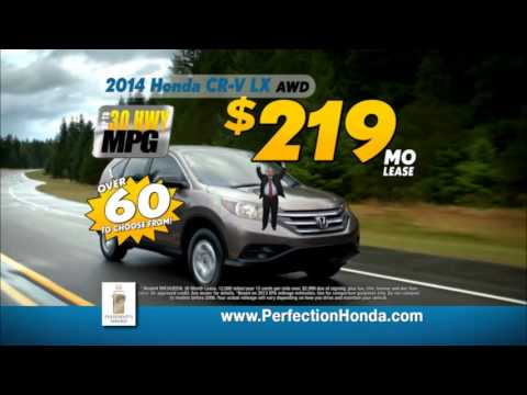 Perfection Honda - First of 2014 Sales Event on Honda CRV
