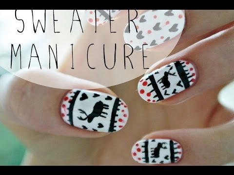 Sweater manicure