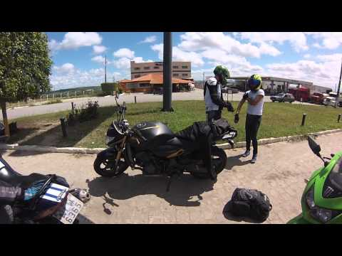 NC700 - Se despedindo do Bezerros Moto Fest 2014 part 2 / Maceió - AL / Gopro Hero
