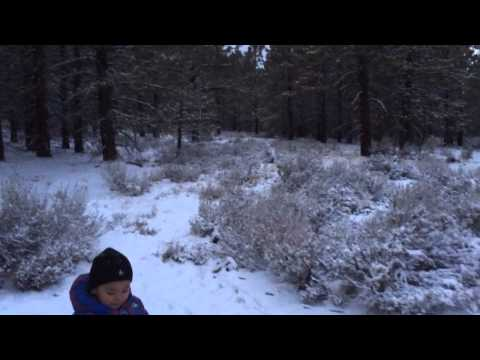 Lucas Tyler Buendia at Mount Pinos 12/7/13