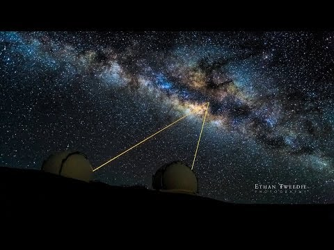 Live from Keck Observatory: The Supermassive Black Hole