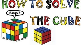 How To Solve A Rubik's Cube EASY! 5 Step Method. 30