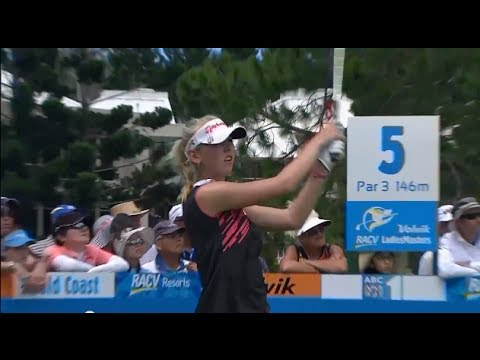 Volvik RACV Ladies Masters 2013 Australia - Day 3 part 1 - Ladies European Tour