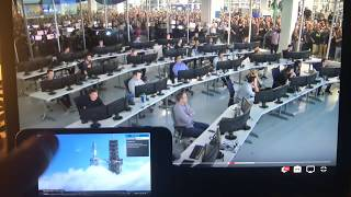 Falcon Heavy: Reactions at SpaceX Mission Control