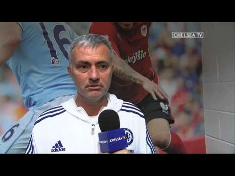 Reaction: Mourinho on Cardiff