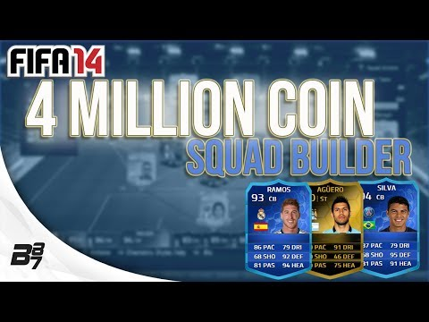 4 MILLION COIN FULL INFORM TEAM! | FIFA 14 Ultimate Team Squad Builder