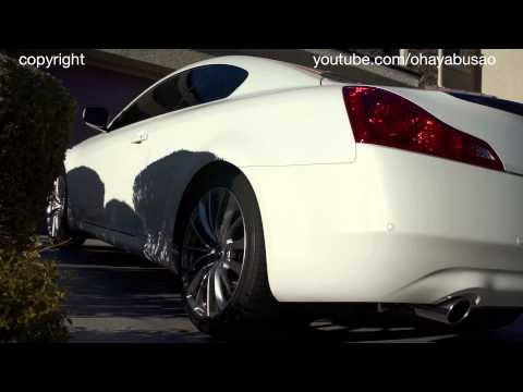 2014 Infiniti Q60S (G37S) exhaust rev HQ