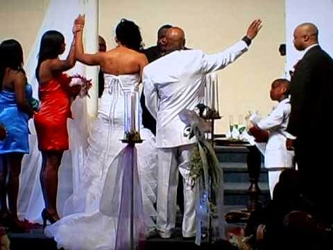 Marcellus & Laday Winters Wedding With Prophet Ronald Hubbard