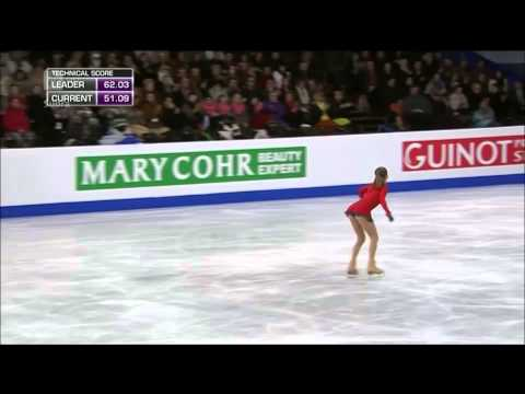Julia Lipnitskaia   2014 European Figure Skating Championships -NO NARRATION