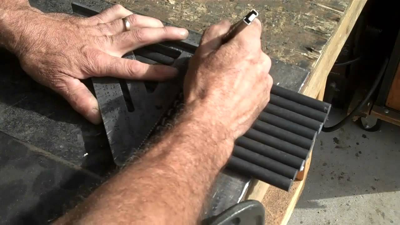 How To Bend Rod With Heat Your Home Metal Shop Tips Youtube