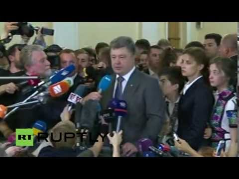 LIVE Ukrainian presidential election in Kiev