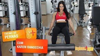 Karen Ranocchia - Cadeira extensora
