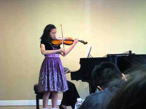 Amber's 5th violin competition
