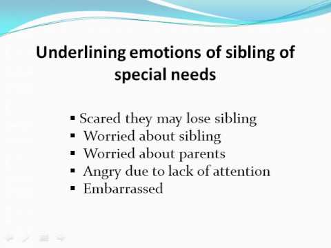 Addressing Sibling Conflict