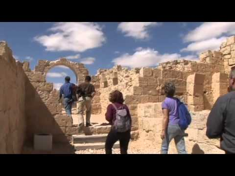 Tourists discover Israel's Negev desert