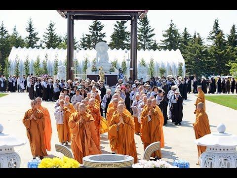 Lễ Khai Môn Thiền Đường Trúc Mây tại Tu Viện Tây Thiên