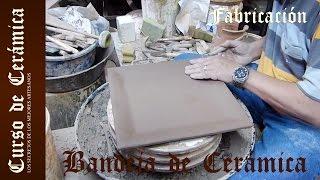 Fabricar bandeja de cerámica