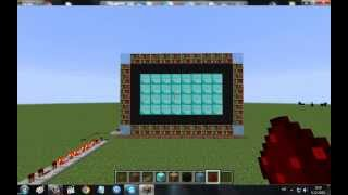 How To Make A Working Live TV In MineCraft [NO MODS!] 1.7