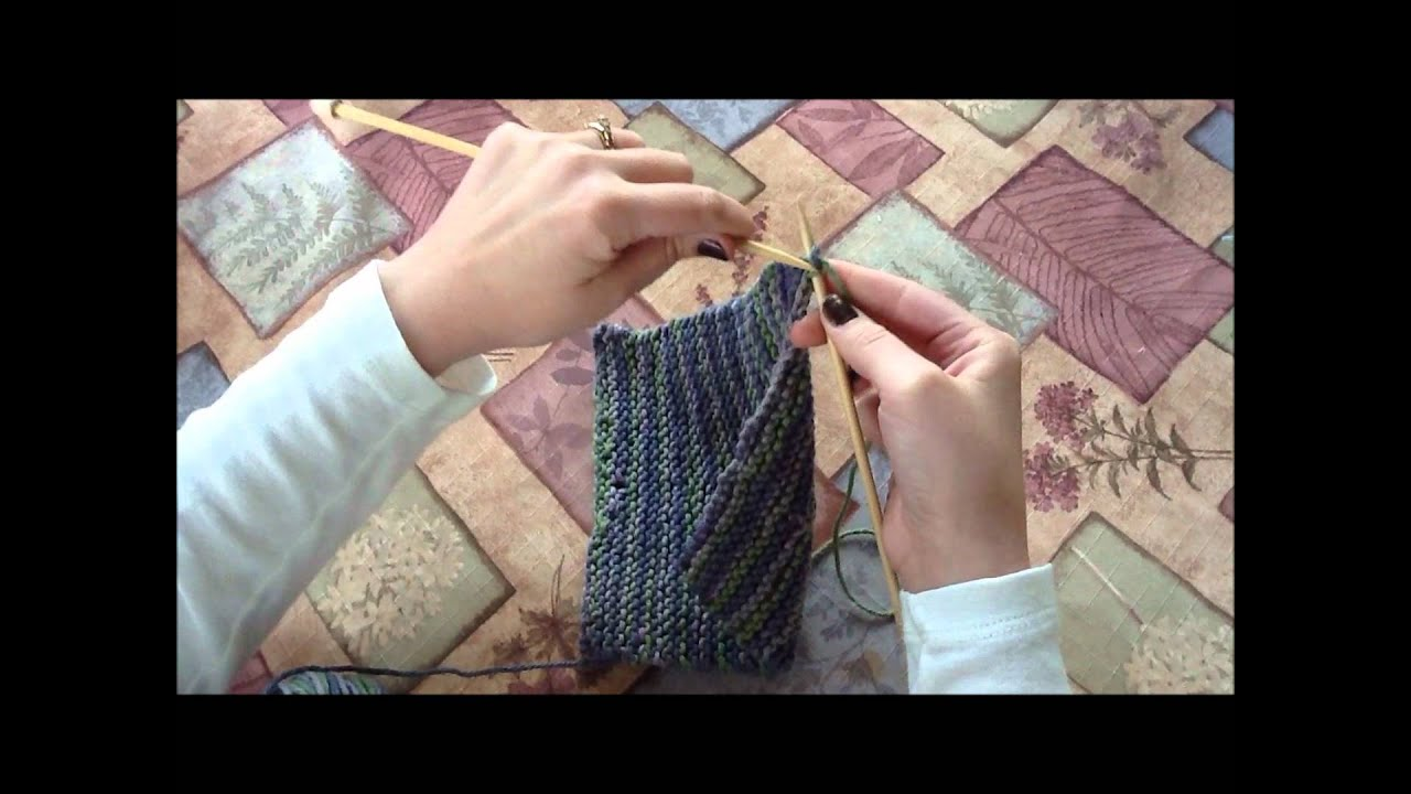 Knitting Casting Off Tutorial : Knitting how to cast off and weave in ends beginner s