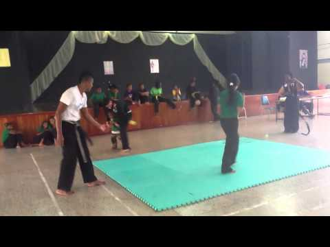 BLACK HAWKS MARTIAL ARTS ASSOCIATION EVASION AND AWARENESS TEST FEMALES SUMMER CAMP GRADING 2013