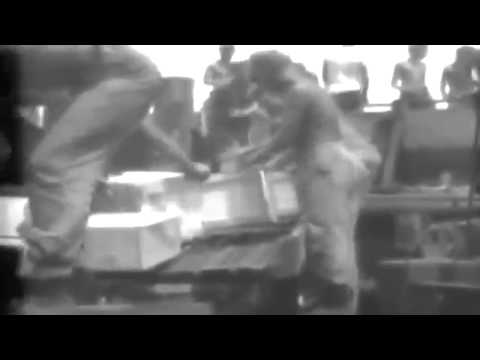 U.S. Marines Arrive In AAC C-47; Henderson Field Activities, Guadalcanal, 12/1942 (full)