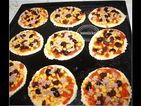 Mini Pizza - Sousoukitchen