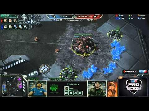 (HD490) Alicia vs DRG - Game 3 - Starcraft 2 Replay [FR]