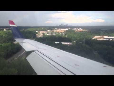 US Airways Express CRJ 200 landing