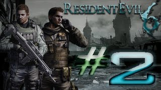 Resident Evil 6 Detonado (Walkthrough) Chris Parte 2 HD