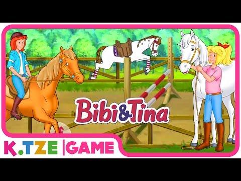Bibi und Tina auf Deutsch 🐴 Ganze Folgen der Pferdeturnier App | Folge 4.
