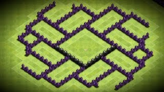 Clash Of Clans Awesome Town Hall 7 Trophy Base Speed