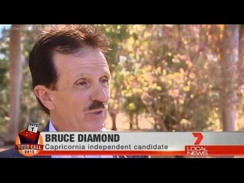 Seven Local News Rockhampton: Federal Election Coverage - Bruce Beats Deadline (2013)