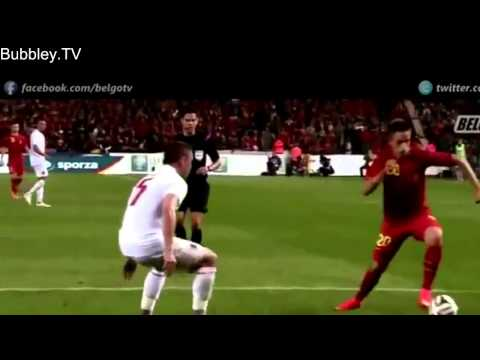 Adnan Januzaj Individual Highlights   International Debut   Belgium vs Luxembourg 5 1   HD   3