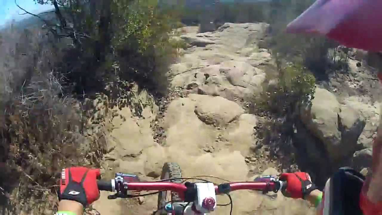 Stagecoach Trail - This is the Rock Garden section of Stagecoach Trail in Chatsworth/Simi Valley, California. Shuttle & Downhill mountain biking Santa Susana Mountain, more inf...
