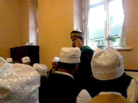 durood sharif read by sufi rashad @ naqshband aslami mahfil (keighley)