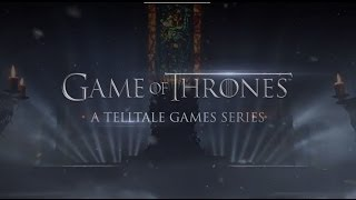 Game of Thrones: A Telltale Games Series - Announcement Trailer