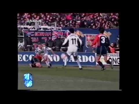 Cagliari - Juventus 1-0 (31.01.1999) 2a Ritorno Serie A.