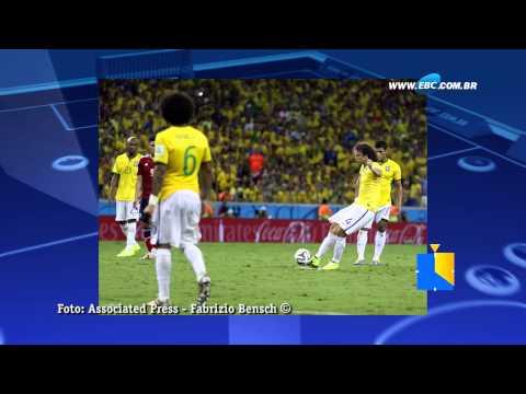 Brasil perde Neymar na Copa do Mundo. Confira o resumo das quartas de final