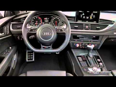 2014 Audi RS7 Sportback Interior and Exterior Design Review