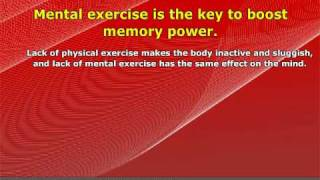 How To Improve Memory Power In 5 Minutes Per Day!